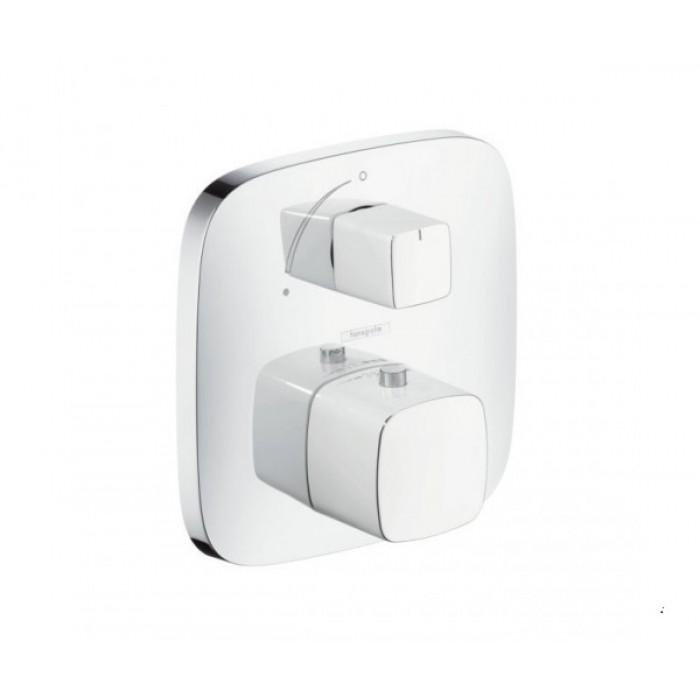 Термостат для душа с запорным вентилем Hansgrohe PuraVida 15775000 в интернет-магазине «Estet Room»