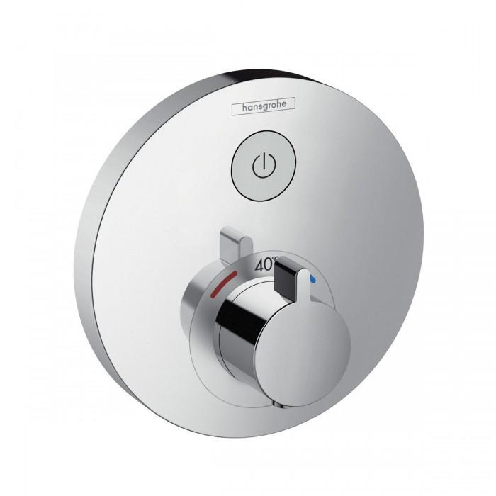 Термостат для душа Hansgrohe ShowerSelect S 15744000 в интернет-магазине «Estet Room»