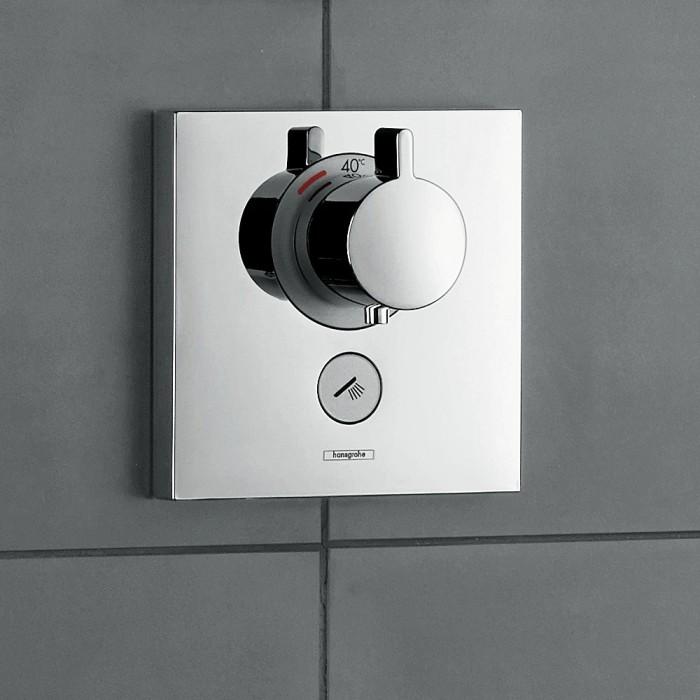 Термостат для душа Hansgrohe ShowerSelect Highfow 15761000 в интернет-магазине «Estet Room»