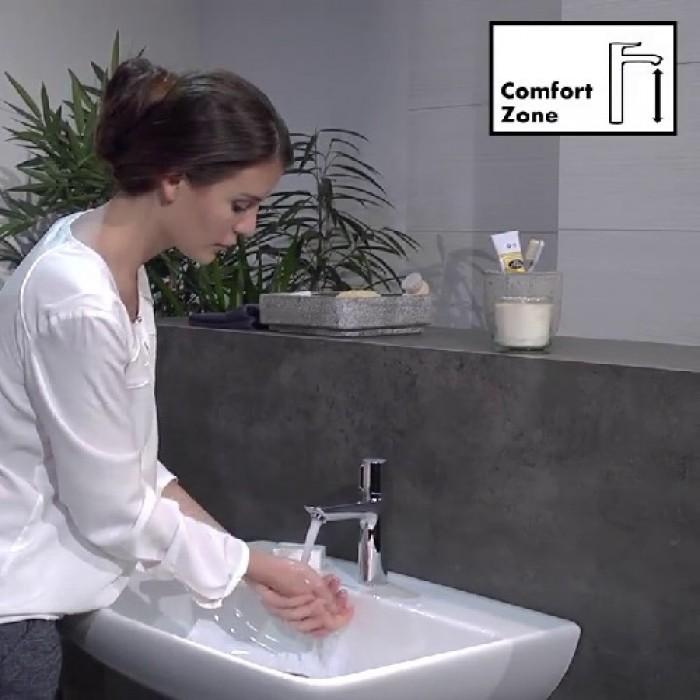 Смеситель для раковины Hansgrohe Talis Select E 71750000 в интернет-магазине «Estet Room»