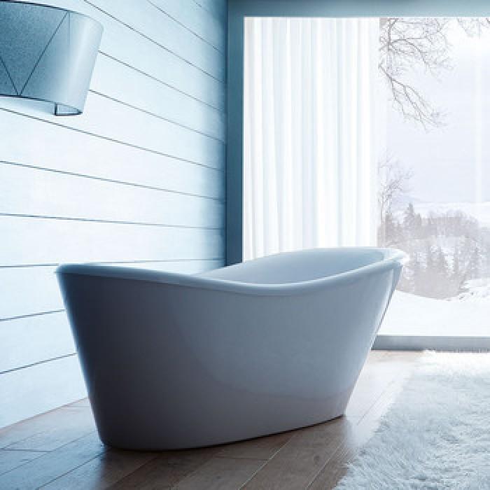 Gruppo Treesse Nina Ванна 170x80xh71 см, цвет черный в интернет-магазине «Estet Room»