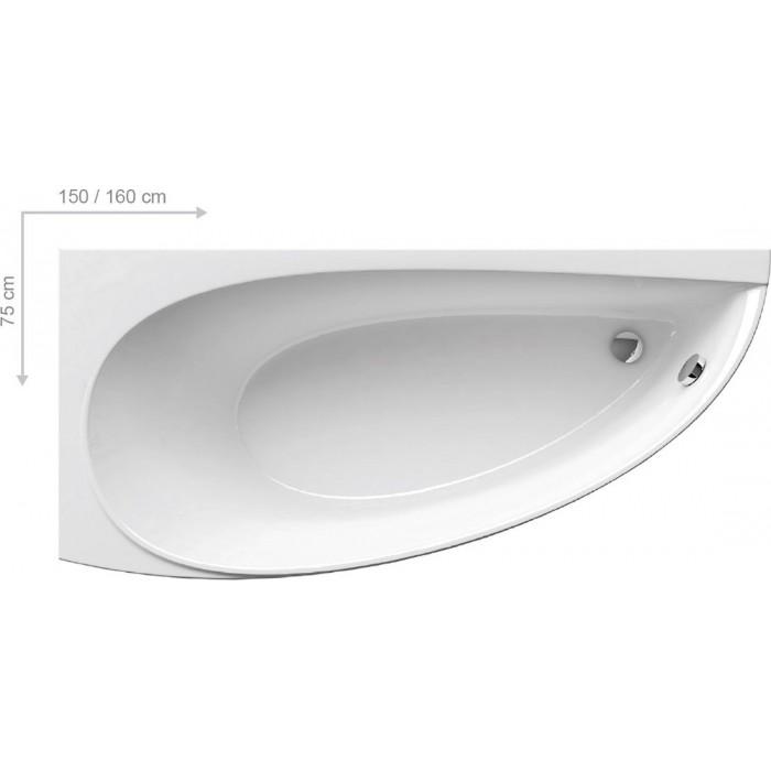 Ванна акриловая Ravak Avocado 160x75 L\R в интернет-магазине «Estet Room»