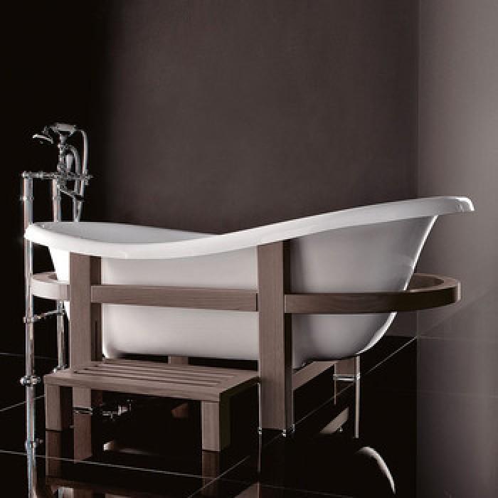 Gruppo Treesse Epoca One Top Ванна в классическом стиле 170x80xh73 см, цвет белый, венге в интернет-магазине «Estet Room»