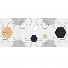 Плитка MAYOLICA AMANI DЕCOR HEXAGONO BLANCO 8×700×280