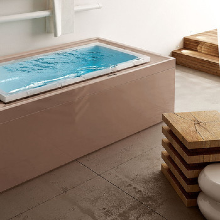 Gruppo Treesse Fusion 220 Ванна в современном стиле 220x120xh67 см в интернет-магазине «Estet Room»