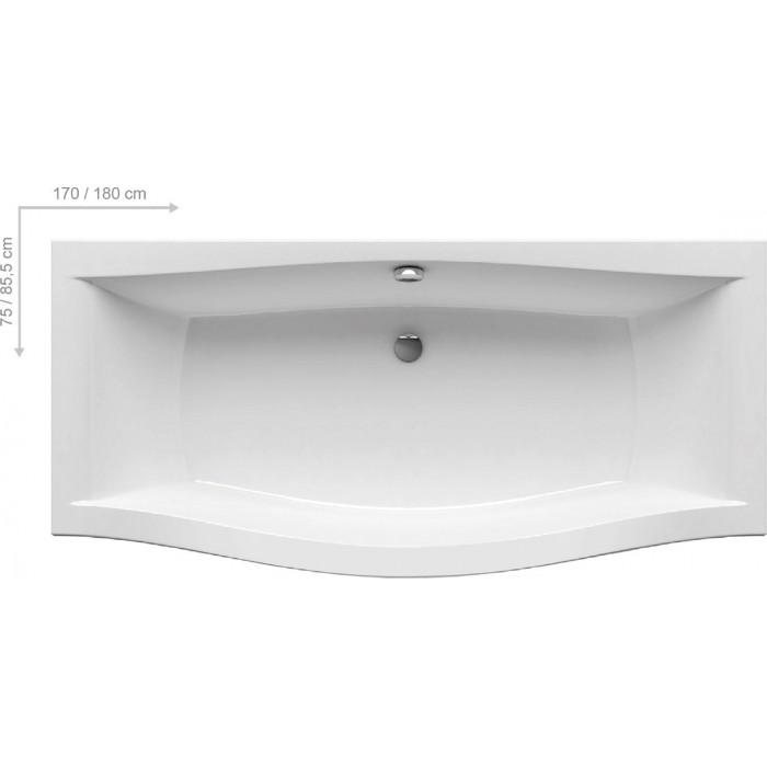 Ванна акриловая Ravak Magnolia 170x75 в интернет-магазине «Estet Room»