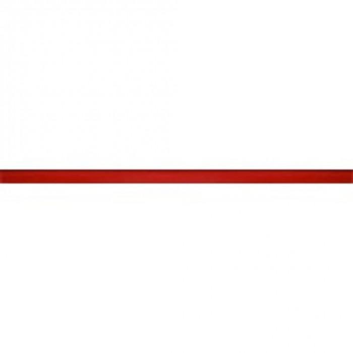 Декор GRAND KERAMA Декор Стеклянный красный 8×23×600