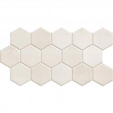 Керамогранит REALONDA HEx WHITE 9×510×265