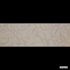 Плитка Ceramica de LUX Decorations G93000H4 (G93000-5) DEC LEAVES WHITE/a 8×900×300