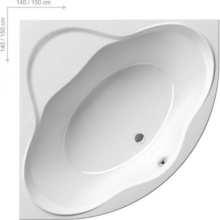 Ванна акриловая Ravak NewDay 150x150 в интернет-магазине «Estet Room»