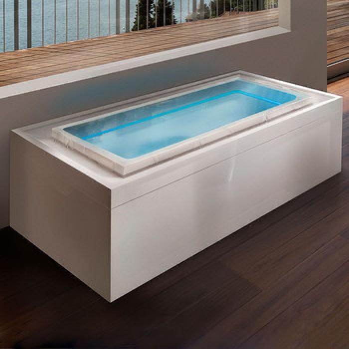 Gruppo Treesse Fusion Spa 220 Ванна в современном стиле 220x120xh67 см в интернет-магазине «Estet Room»