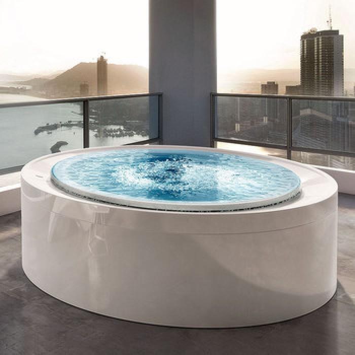 Gruppo Treesse Fusion Spa 200 Ванна в современном стиле 200xh67 см в интернет-магазине «Estet Room»