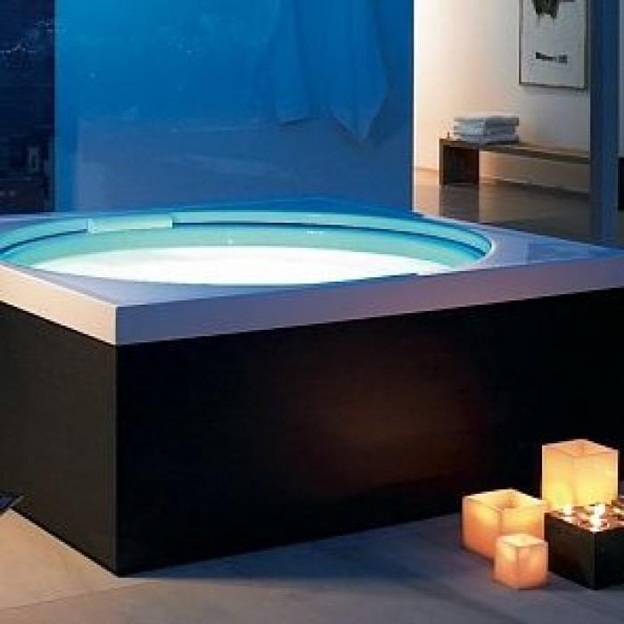 Blue Moon ванна квадратная 180 см 700169000000000 в интернет-магазине «Estet Room»