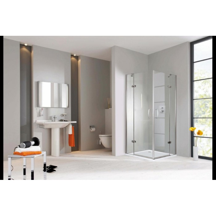 Душевые двери Huppe Aura (2уп) 900x1900 401101.087.321 в интернет-магазине «Estet Room»