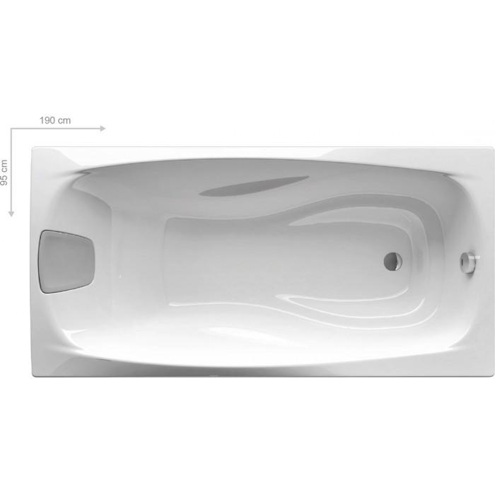 Ванна акриловая Ravak XXL 190x95 в интернет-магазине «Estet Room»