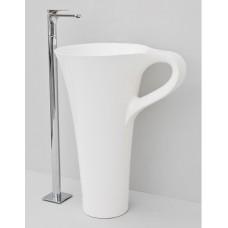 Каменная раковина 70 см Artceram Cup, white (OSL004 01; 00)