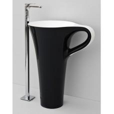 Каменная раковина 70 см Artceram Cup, black (OSL004 01; 50)