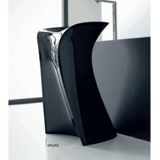 Каменная раковина 57 см Artceram Miss, black (OSL012 03; 00)