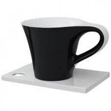 Каменная раковина 70 см Artceram Cup, black (OSL005 01; 50)