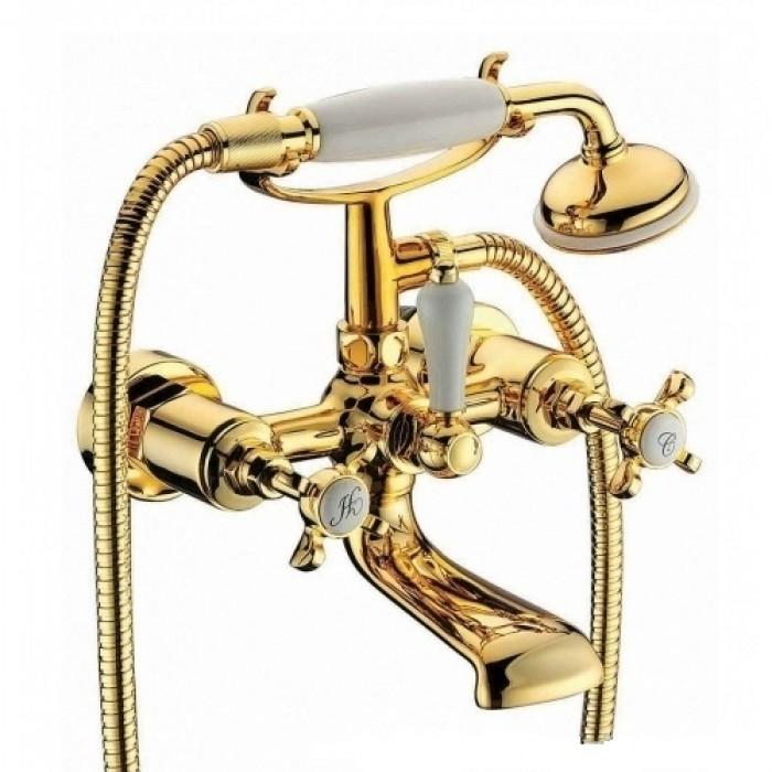 Смеситель для ванны Imprese Cuthna 10280 zlato в интернет-магазине «Estet Room»